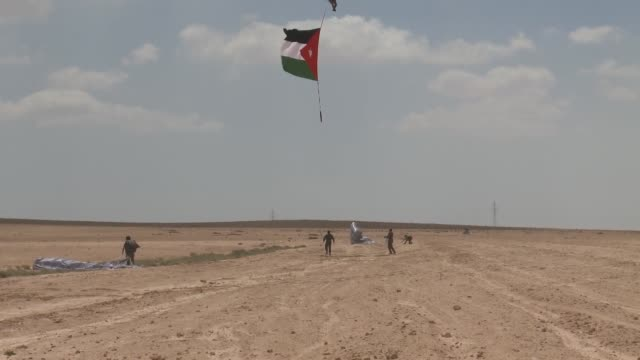 Paratroopers from around the world teamed up for Exercise Eager Lion May 25 June 7 at an airbase in northern Jordan Jumpers from the 20th Special...