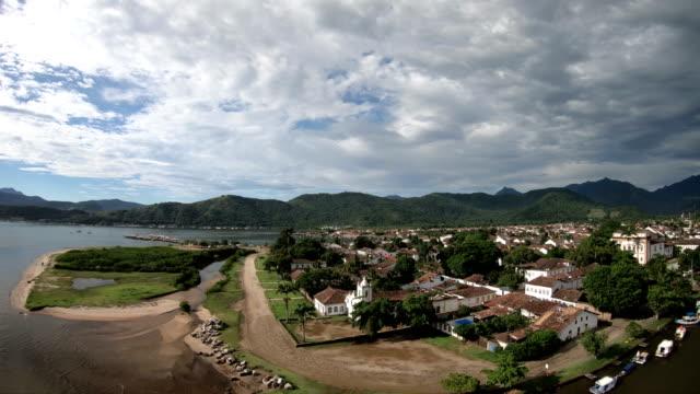 paraty, rio de janeiro-brazil - america del sud video stock e b–roll