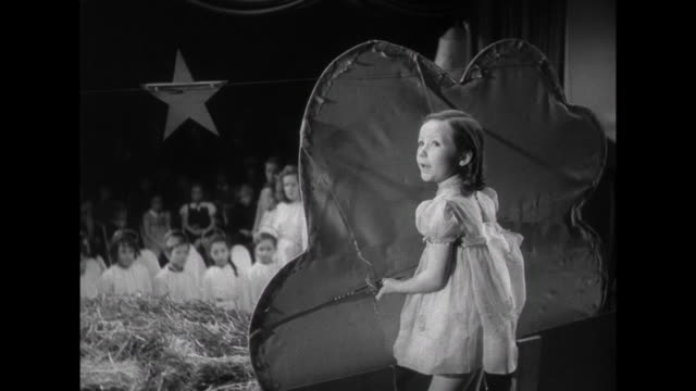 1941 Parent's ( Cary Grant & Irene Dunne) daughter sings in the school Christmas play