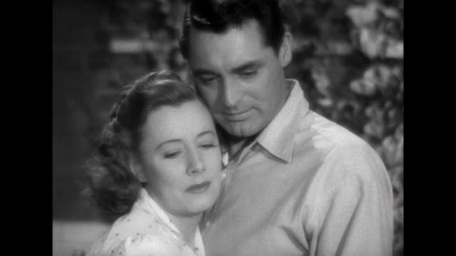 1941 parents (cary grant & irene dunne) may lose adopted baby due to low income - asking stock videos & royalty-free footage