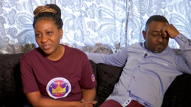 Parents of Malcolm MideMadariola start charity in his name following his murder ENGLAND London INT Olukemi MideMadariola interview SOT
