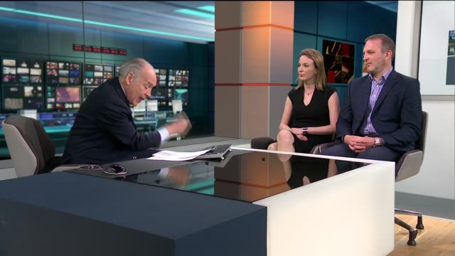 parents of stillborn girl launch damages claim against the nhs after report findings england london gir int sarah hawkins live studio interview sot... - jack hawkins stock videos and b-roll footage