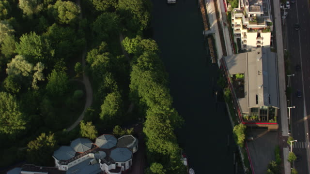 paris : along the seine - végétation verdoyante stock videos & royalty-free footage