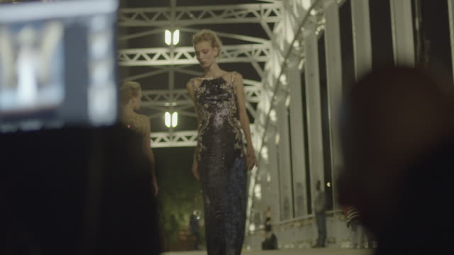 paris at dusk - fashion show stock videos & royalty-free footage