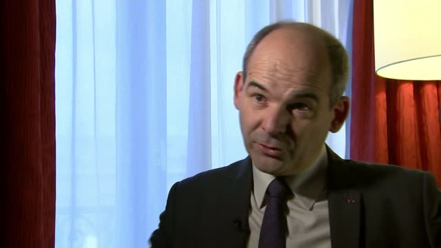 diplomatic reaction at g20 france paris general patrick charaix interview sot there is two coalitions over syria the coalition with bashar russia... - diplomacy stock videos & royalty-free footage