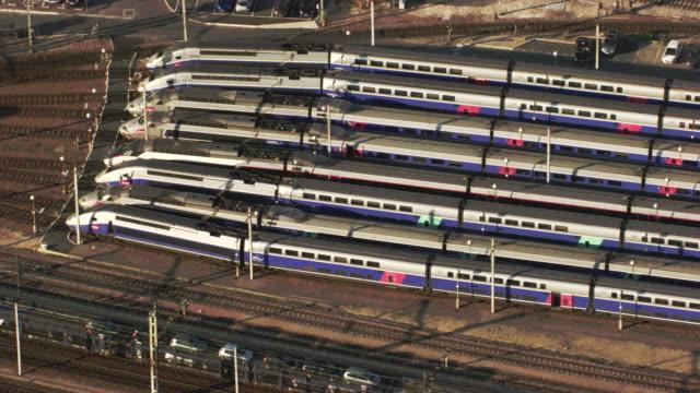 paris :  austerlitz station - tgv点の映像素材/bロール