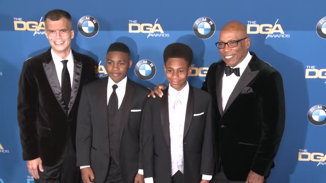 paris barclay at 69th annual directors guild of america awards in los angeles ca - directors guild of america awards stock videos & royalty-free footage