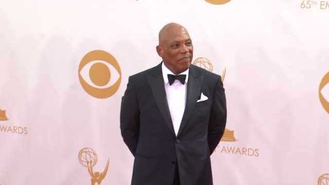 paris barclay at the 65th annual primetime emmy awards arrivals in los angeles ca on 9/22/13 - annual primetime emmy awards stock-videos und b-roll-filmmaterial