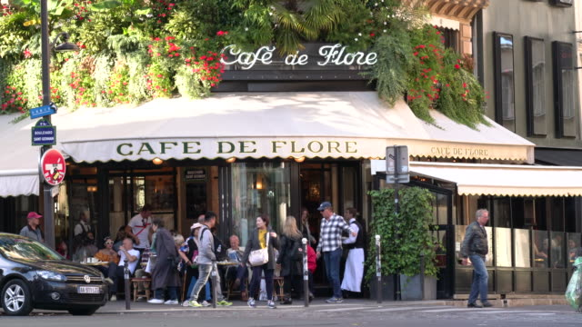 paris bistro - french culture stock videos and b-roll footage