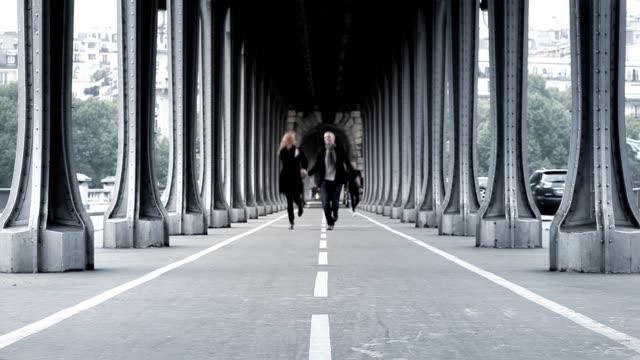 Paris Bridge Couple