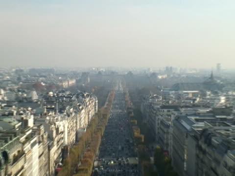 Paris: Champs-Élysées Looking East, Quick Pull, Push