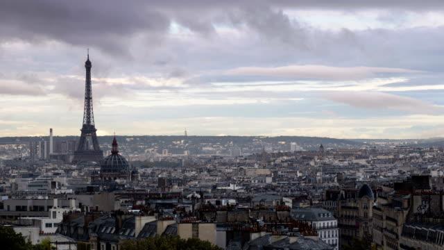 Paris Cityscape From Montmartre