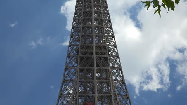 Paris Tour Eiffel, Volant inclinable