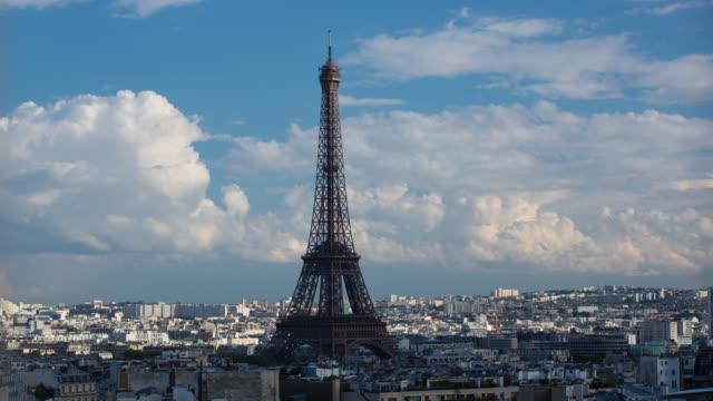 タイムラプス: パリエッフェルタワー