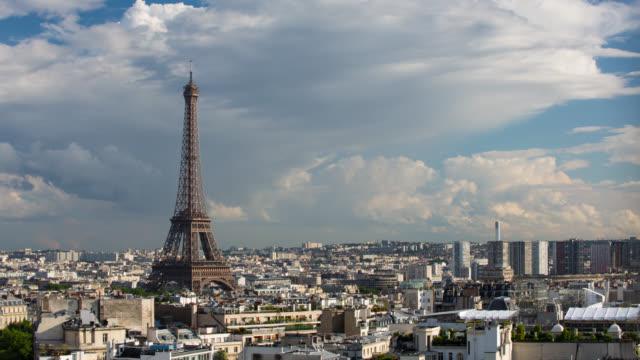 TIME LAPS: Paris Eiffel Tower