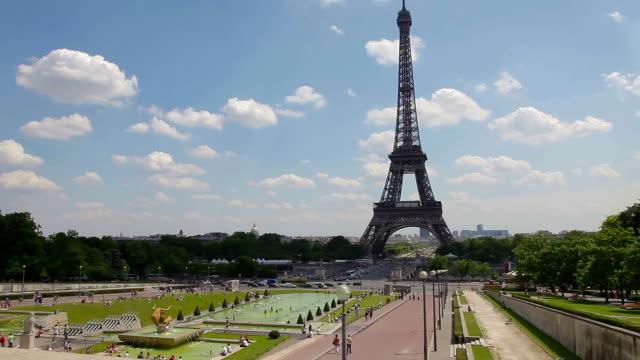 La Tour Eiffel et du Trocadéro perspective