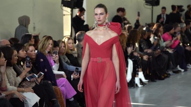 FRA: Paris Fashion Week - Haute Couture Spring/Summer 2020 : Elie Saab