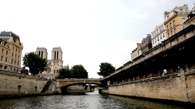 paris, france (hd) - seine river stock videos and b-roll footage