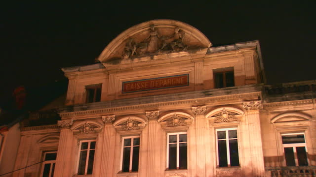 paris, francebuilding exterior - gerichtsgebäude stock-videos und b-roll-filmmaterial