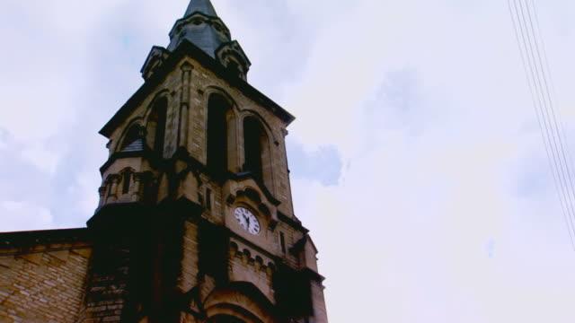 paris, francechurch steeple, france - steeple stock videos & royalty-free footage