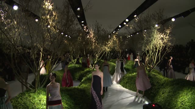 paris haute couture spring/summer 2013 christian dior paris haute couture spring/summer 2013 christian on january 22 2013 in paris france - 2013 stock videos & royalty-free footage