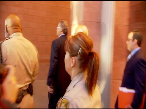 paris hilton arriving at the clark county courthouse. at the paris hilton court appearance at the clark county regional justice center at las vegas... - las vegas hilton stock-videos und b-roll-filmmaterial