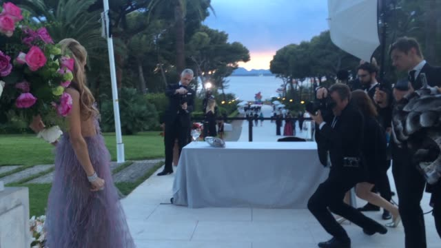 Paris Hilton at amfAR 22nd Cinema Against AIDS Reception at Hotel du CapEdenRoc on May 21 2015 in Cap d'Antibes France