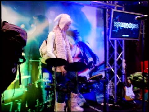 stockvideo's en b-roll-footage met paris hilton at the 2009 sundance film festival - rock band lounge at park city ut. - sundance film festival