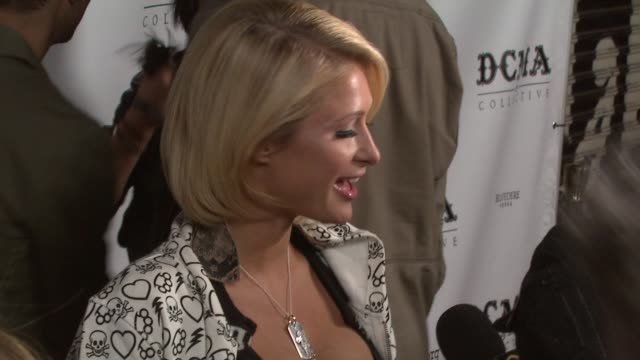 Paris Hilton at the DCMA Collective Celebrates Grand Opening of Flagship Store on March 15 2008