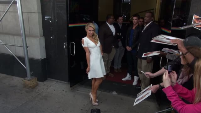 Paris Hilton at 'The Wendy Williams Show' studio in New York NY on 5/2/13