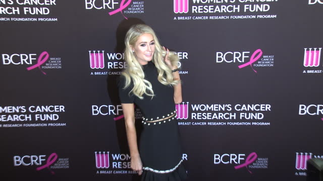 "paris hilton at wcrf's ""an unforgettable evening"" in los angeles ca - paris hilton stock videos & royalty-free footage"