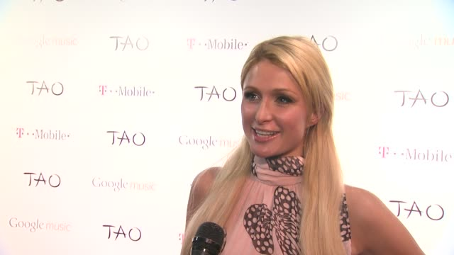 Paris Hilton on her outfit on coming to tonight's event on what she loves about Sundance on the music she loves right now on what she's working at...