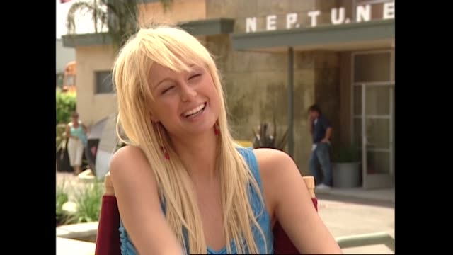 paris hilton on the set of veronica mars - paris hilton stock videos & royalty-free footage