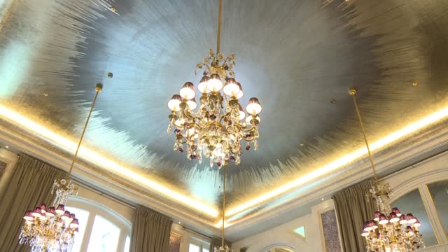vídeos y material grabado en eventos de stock de paris hotel de crillon one of the most luxurious hotels in the world prepares to re open its doors on 5 july after 4 years of work complete with a... - paris las vegas