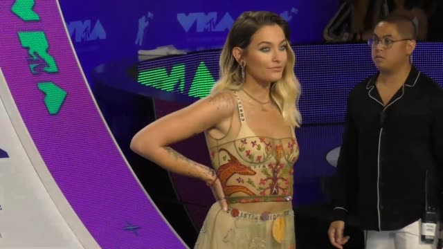 Paris Jackson at the 2017 MTV Video Music Awards at The Forum on August 27 2017 in Inglewood California