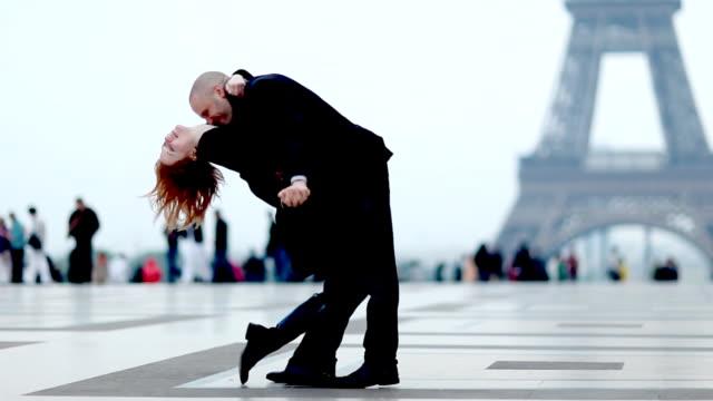 Paris Romantik Paar
