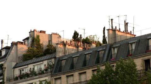 vidéos et rushes de le toit de paris - lotissement