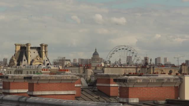 Paris Roof wild