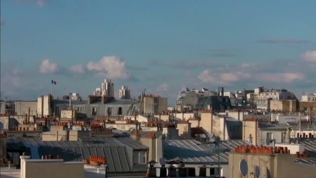 horizontal panoramique sur les toits de Paris