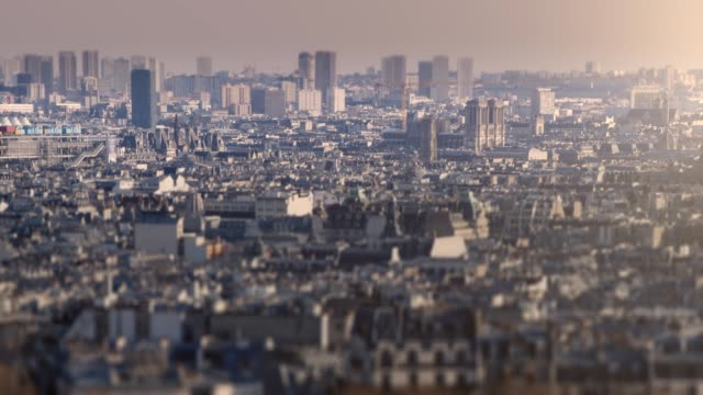 paris rooftops - ward stock videos & royalty-free footage
