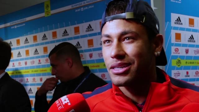 paris saint germain coach unai emery calls for referees to better protect marquee players after brazilian superstar neymar was sent off in a 22 draw... - neymar da silva stock-videos und b-roll-filmmaterial