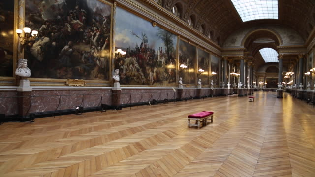 Paris, the Gallery of the Battles in Chateau de Versailles