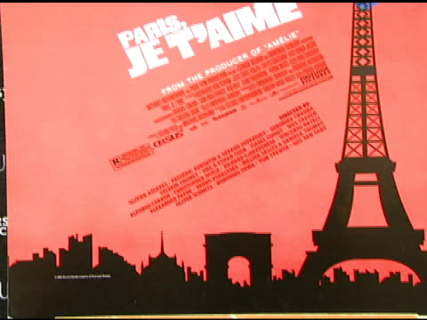 paris theatre at the 'paris je t'aime' premiere at paris theater in new york new york on may 1 2007 - paris theater manhattan stock videos and b-roll footage