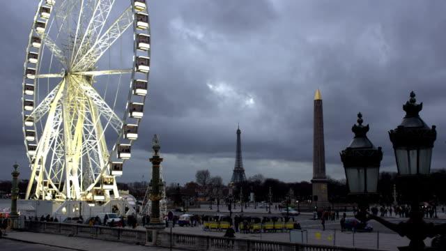 paris time lapse - street light stock videos & royalty-free footage