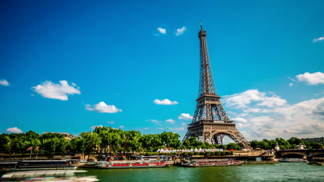 time lapse: paris - paris france stock videos and b-roll footage