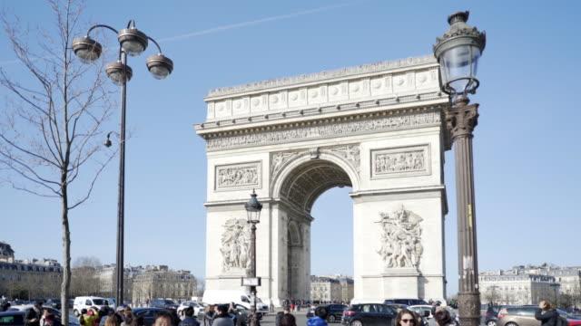 Paris, Winter Breaks and The Arc de Triomphe.
