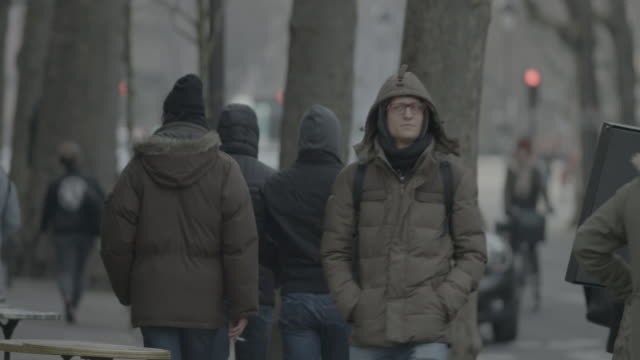 vidéos et rushes de paris wintertime - hiver