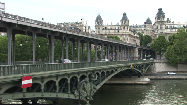 ParisBir Hakeim bridge in Paris France