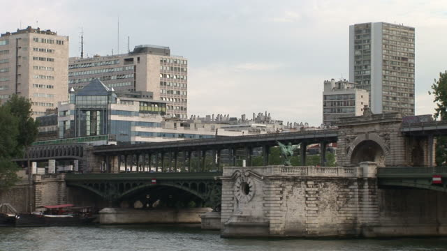 ParisBir-Hakeim Bridge railway bridge in Paris France