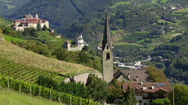 Parish Church and Monastery in South Tyrol PAN TL
